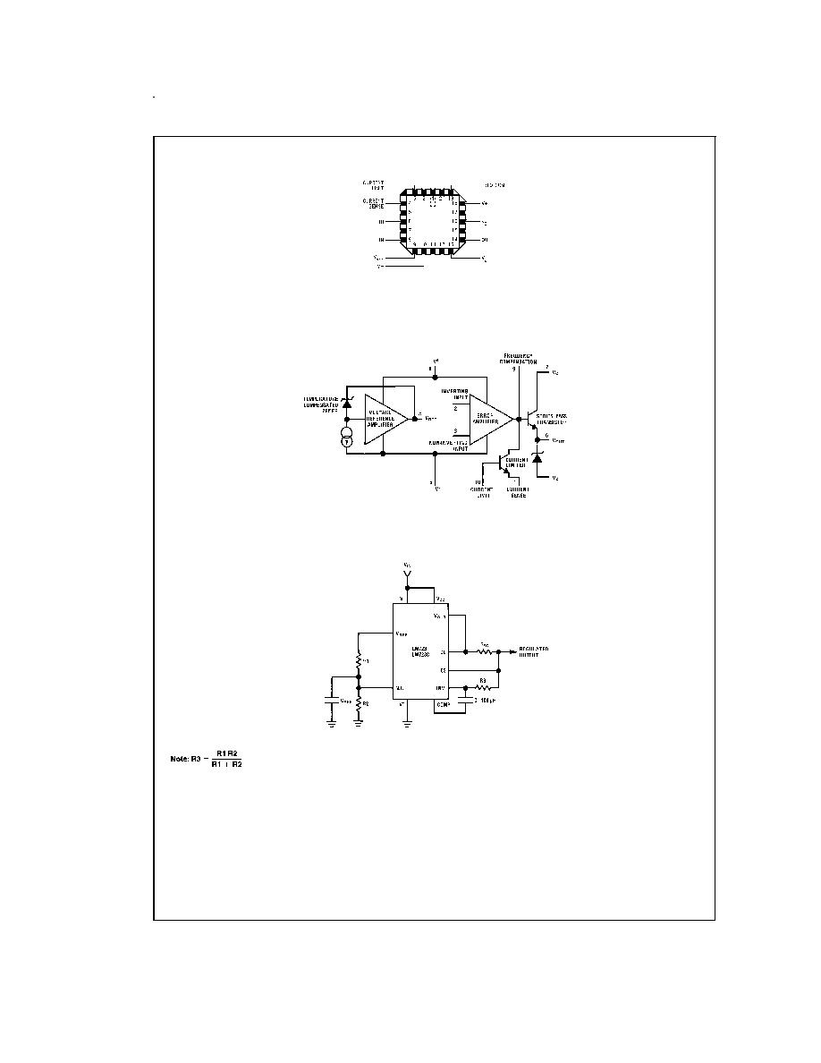 NS LM723CH CAN-10 Voltage Regulator