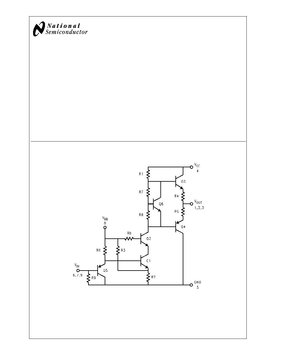 Lm2470 Crt Wiring Diagram Monolithic Triple 70 Ns Driver