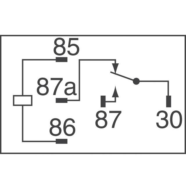Omron G8HN-1C4T-RH Relay 12 VDC